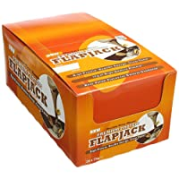 Bodybuilding Warehouse Chocolate Macaroon Premium Protein Flapjacks - Pack of 24 Bars