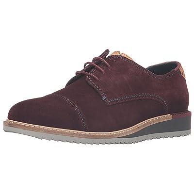 Ted Baker Men's Gliyne Oxford, Dark Red Suede, 7 M US: Shoes