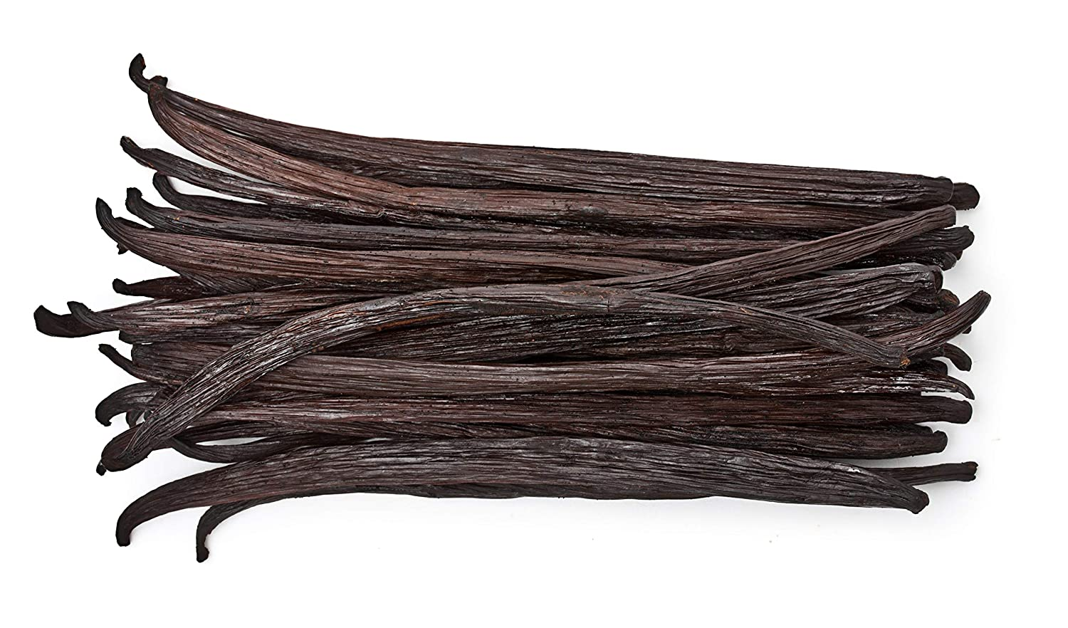 50 Vanilla Beans - Whole Gourmet Grade A Pods for Baking, Homemade Extract, Brewing, Coffee, Cooking - (Tahitian)