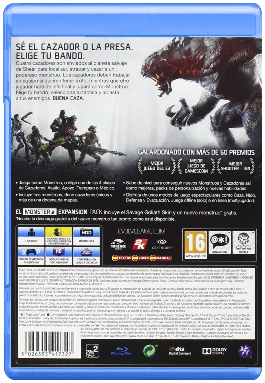 Evolve: xbox one: Amazon.es: Videojuegos