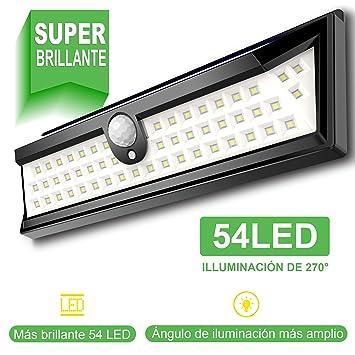 1b2b900ce2240 54 LED Luz Solar Exterior GRAN´T Iluminación Exterior Led de 270° Luz Solar