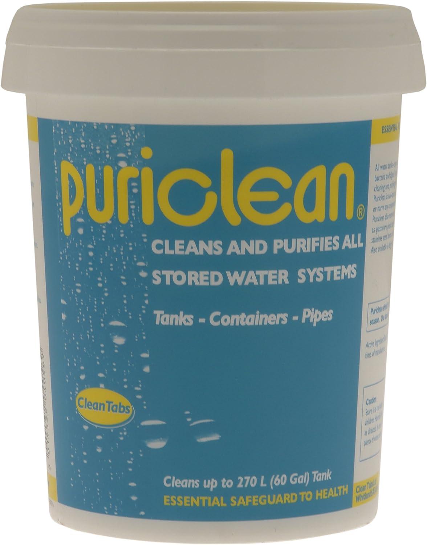Purificador de Agua Puriclean de Clean Tabs – Azul, 400 g: Amazon ...