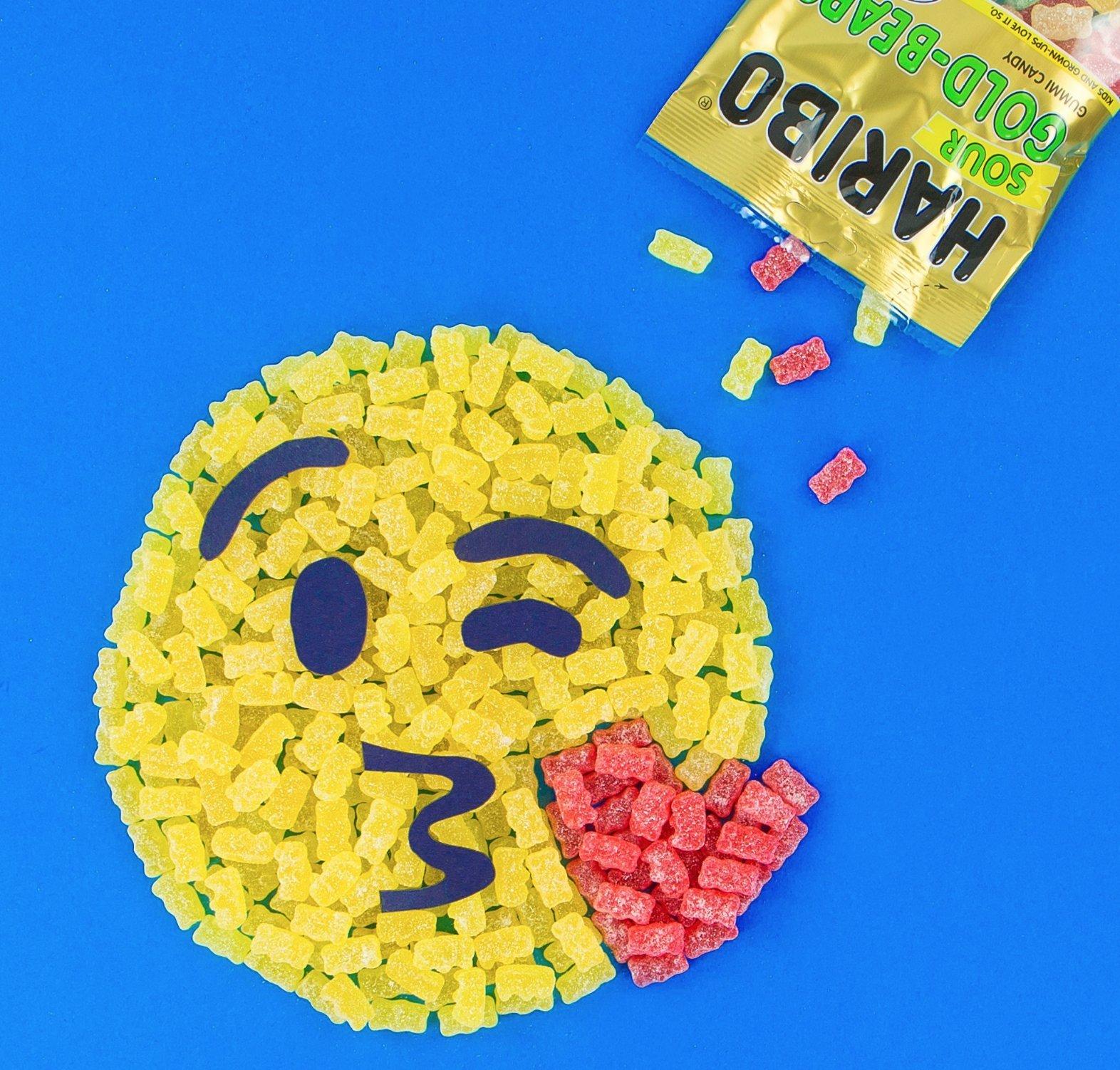Haribo Gummi Candy, Goldbears Gummi Candy, Sour, 4.5 oz. Bag (Pack of 12) by Haribo (Image #4)