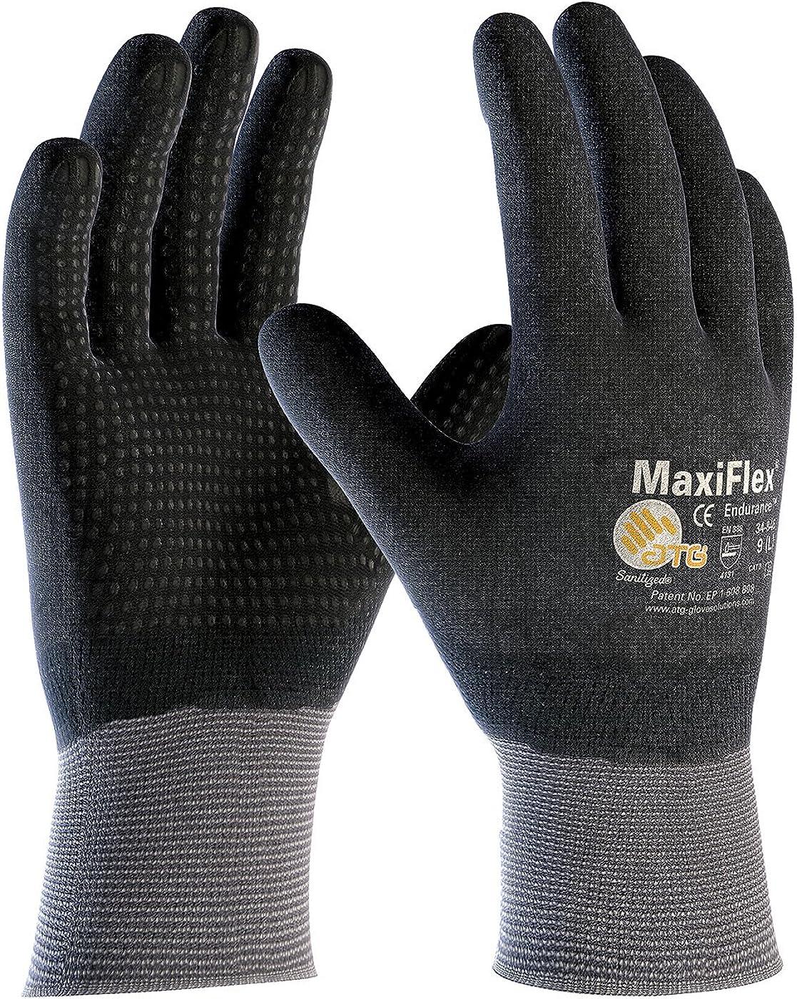 G-TEK Maxiflex Endurance 34-846 Seamless Knit Coated Gloves (Small)