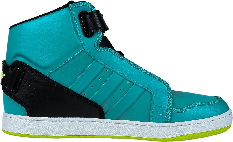 adidas AR 3.0 Basketball-Turnschuh - Schwarz/Techno Grey - Herren - 11,5 Grün