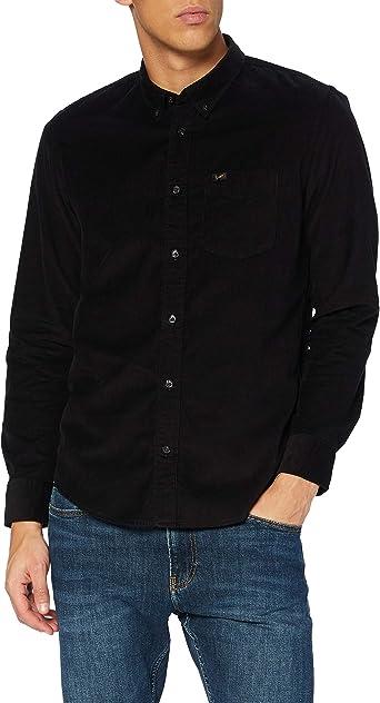 Lee Button Down Camisa con Botones para Hombre