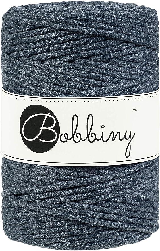 Bobbiny Hilo de macramé de gran calidad de algodón ecológico Oeko ...