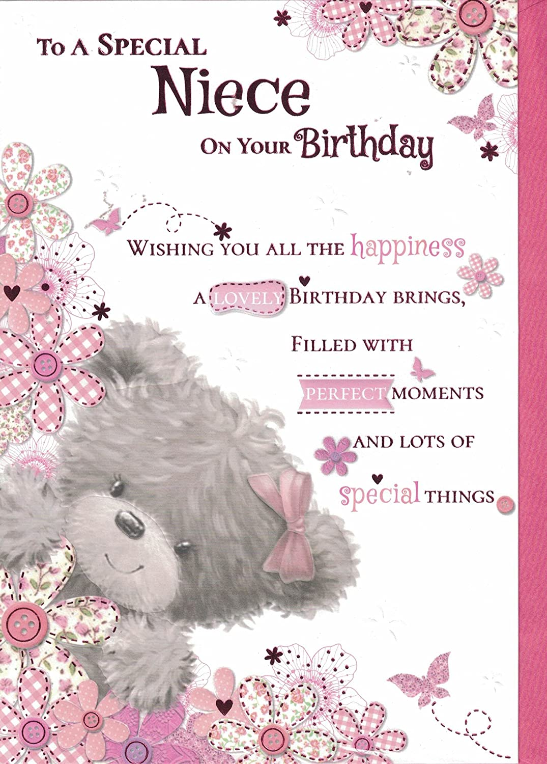 Niece Birthday Card To A Very Special Niece On Your Birthday