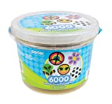 Perler Multi Mix Assorted Fuse Bead Bucket, 6000