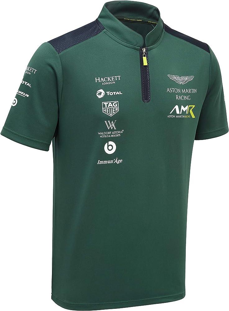 Aston Martin Racing Team Polo Shirt In Green S At Amazon Men S Clothing Store