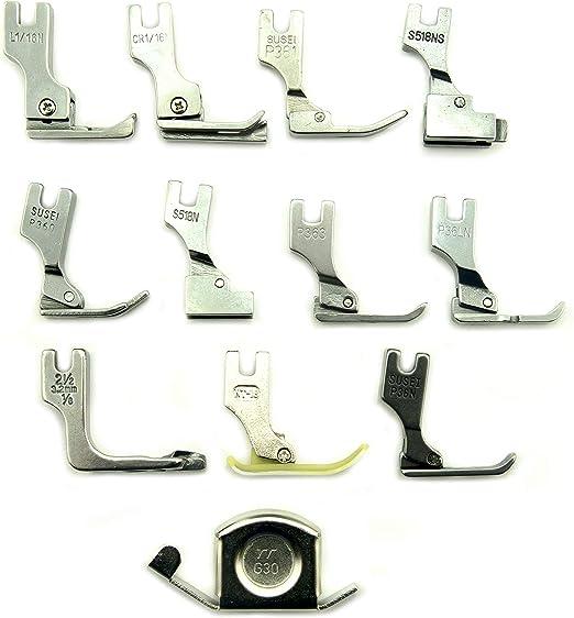 HAND - Juego de 11 patas para máquina de coser industrial para estudiantes y guía de costura magnética G30: Amazon.es: Hogar