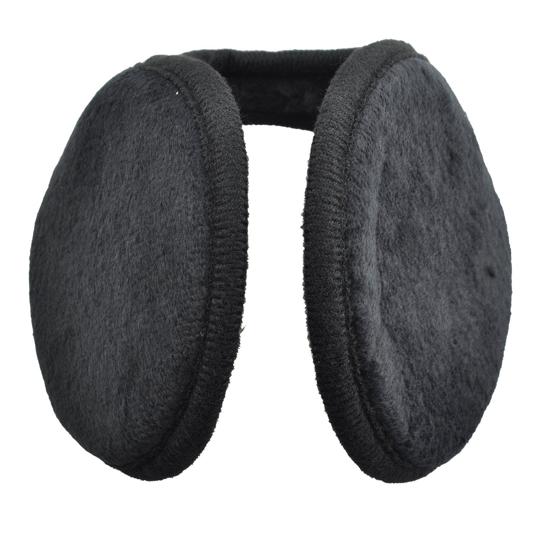 TOOGOO Black Men Women Soft Plush Covered Pads Wrap Earmuffs Ski Ear Muffs Warmers R