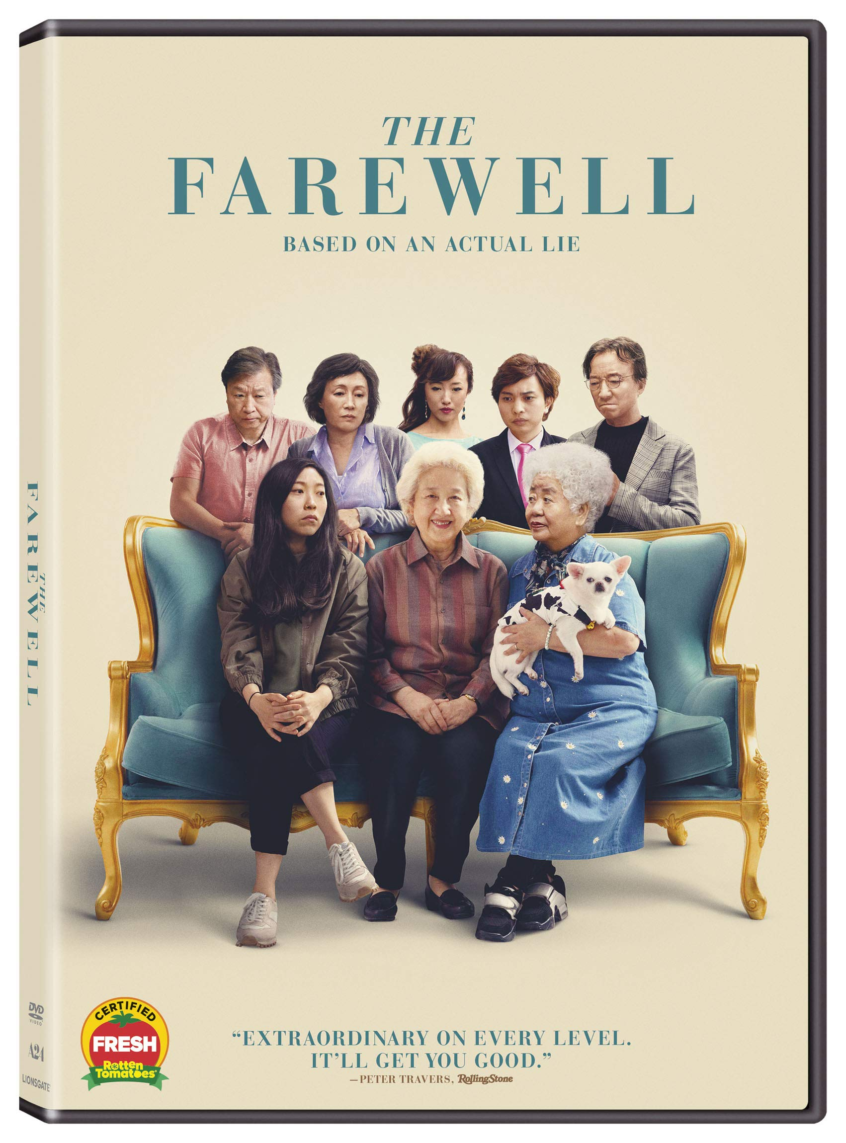 Book Cover: Farewell, The