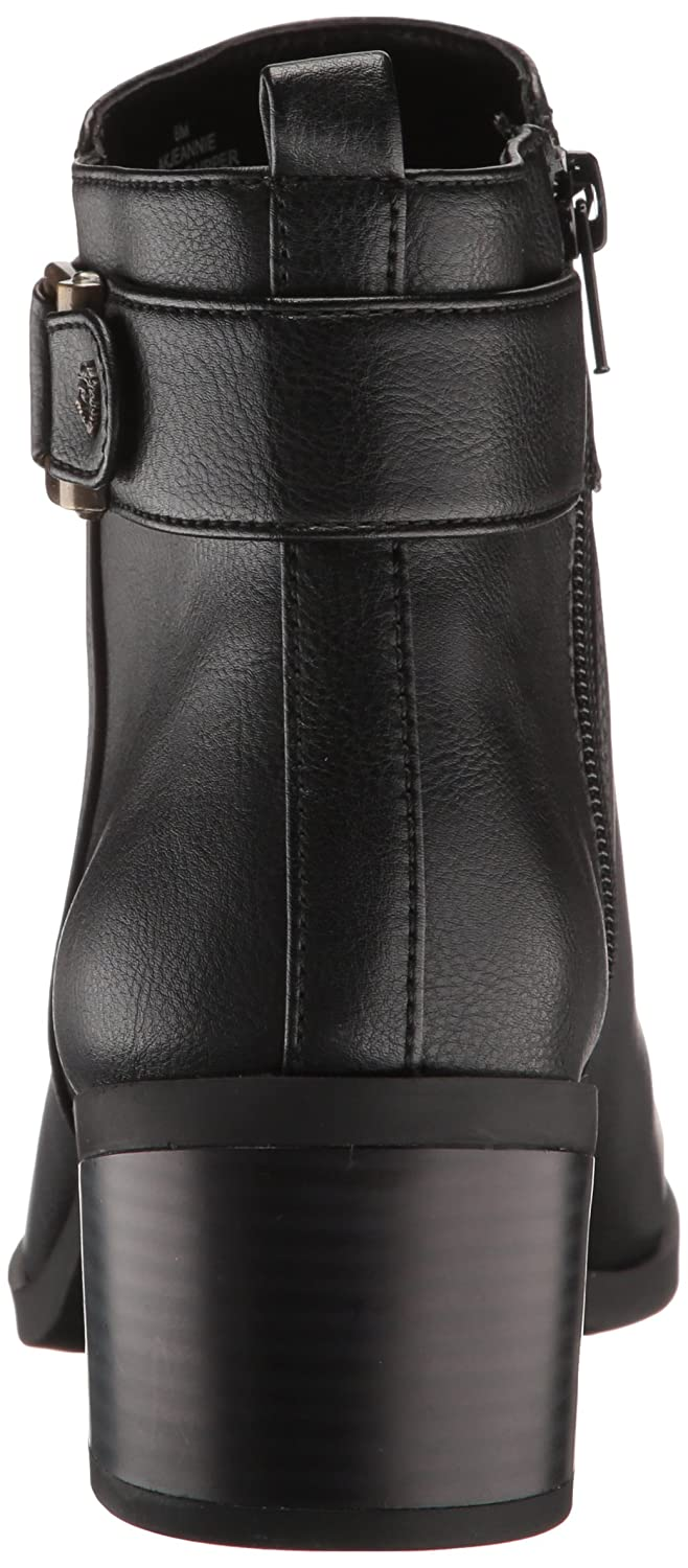 Anne Klein AK Sport Women's Jeannie Synthetic Ankle Boot B071YTZMK9 7 B(M) US|Black