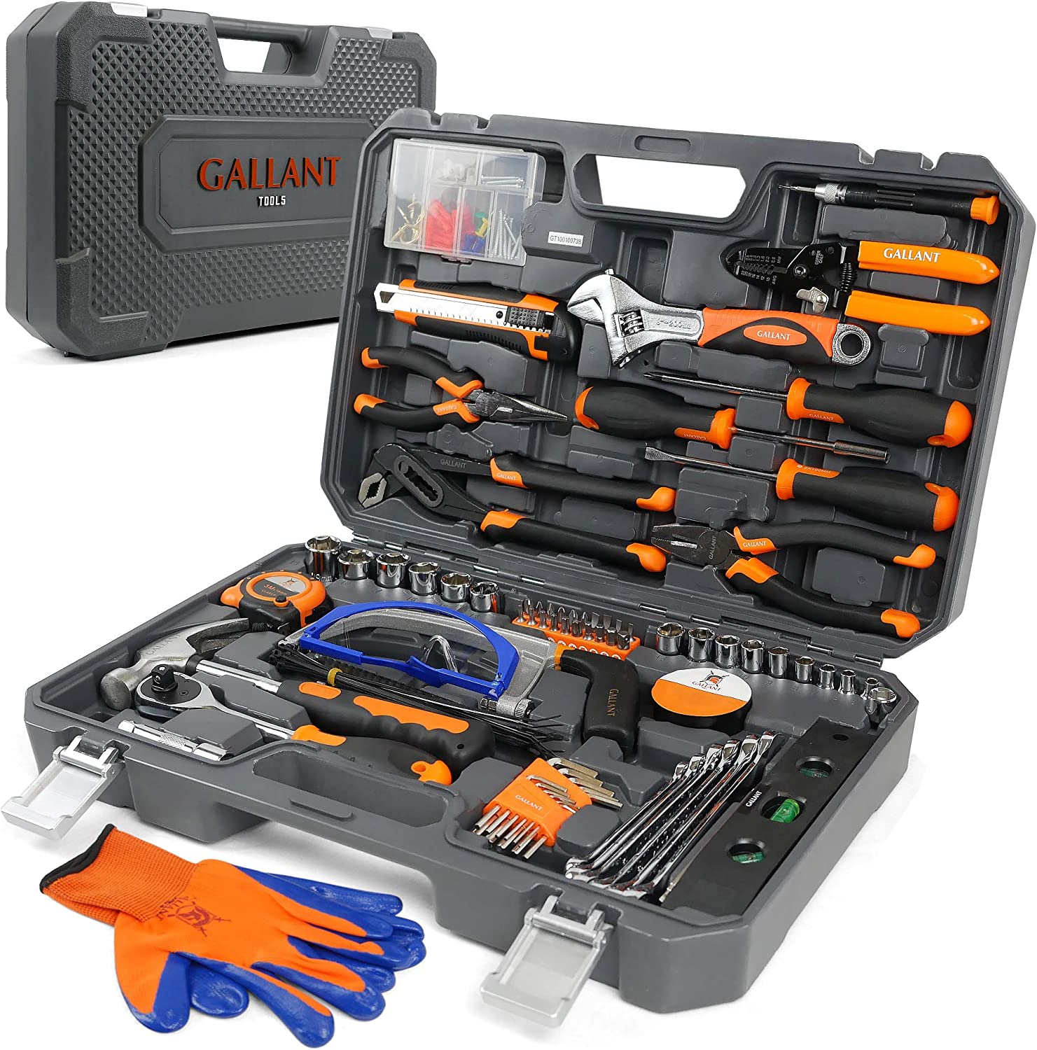 Premium Tool kit for home - Tool Set - Tools for Men - Tools Set - Home Tool Kits - Car Tool Kit - Tool Box Set - Tool Sets for Men and Women