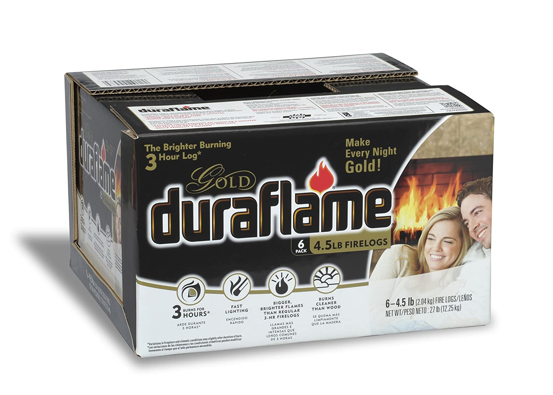 amazon com duraflame 4577 ultra premium firelogs 4 5 pound 6
