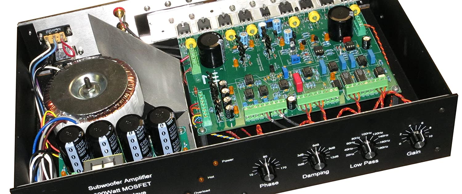 Mb402 Mosfet Stereo Power Amplifier Home Audio Theater 100w Circuit