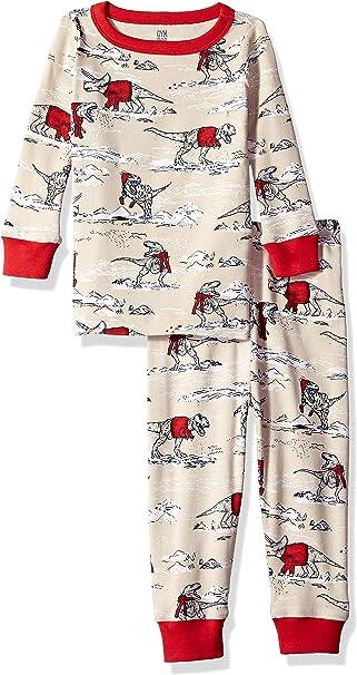 Gymboree Baby Boys Toddler 2-Piece Tight Fit Long Sleeve Pajama Set
