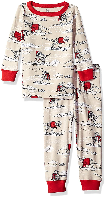 Gymboree Baby Boys 2-Piece Tight Fit Long Sleeve Long Bottoms Pajama Set