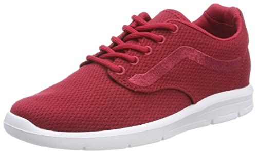 Vans Men s Adults  Iso 1.5 Trainers Red ((Mesh) Crimson True White ... 3f4cc64eb