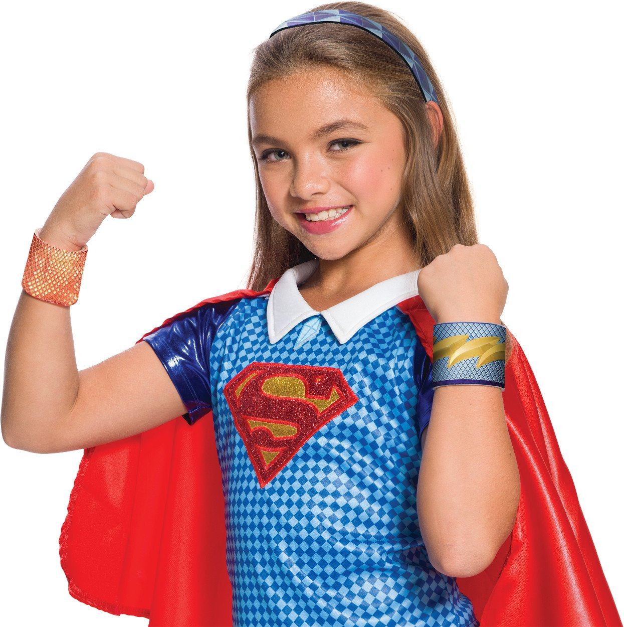 Rubie's Costume DC Superhero Girls Super Girl Accessory Kit, One Size by Rubie's (Image #1)