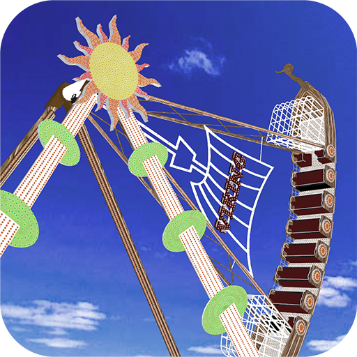Viking ship model Fairground Attraction Simulator Game for Mobile (Available for kids +3) Amusement park games