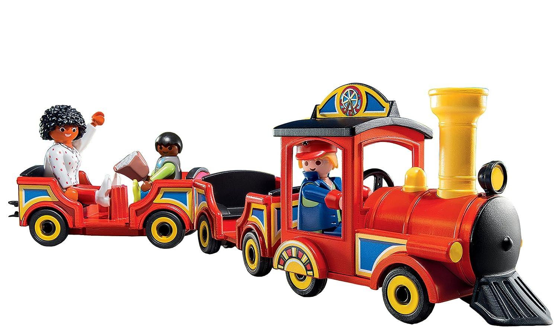 Playmobil children 39 s train set toys games toys play - Train playmobil ...