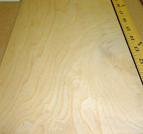 White Ash Burl Wood Veneer 8 X 11 With Paper Backer A