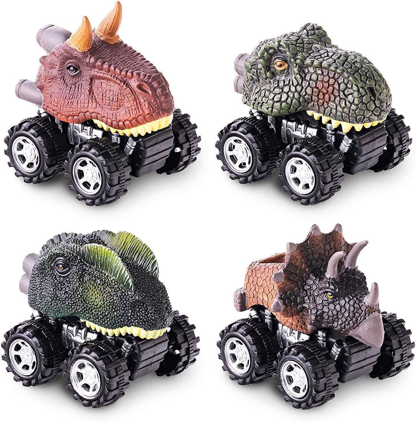 Pull Back Dinosaur Vehicle Cars Boys Girls Great Toys Gift Kids Party Favor