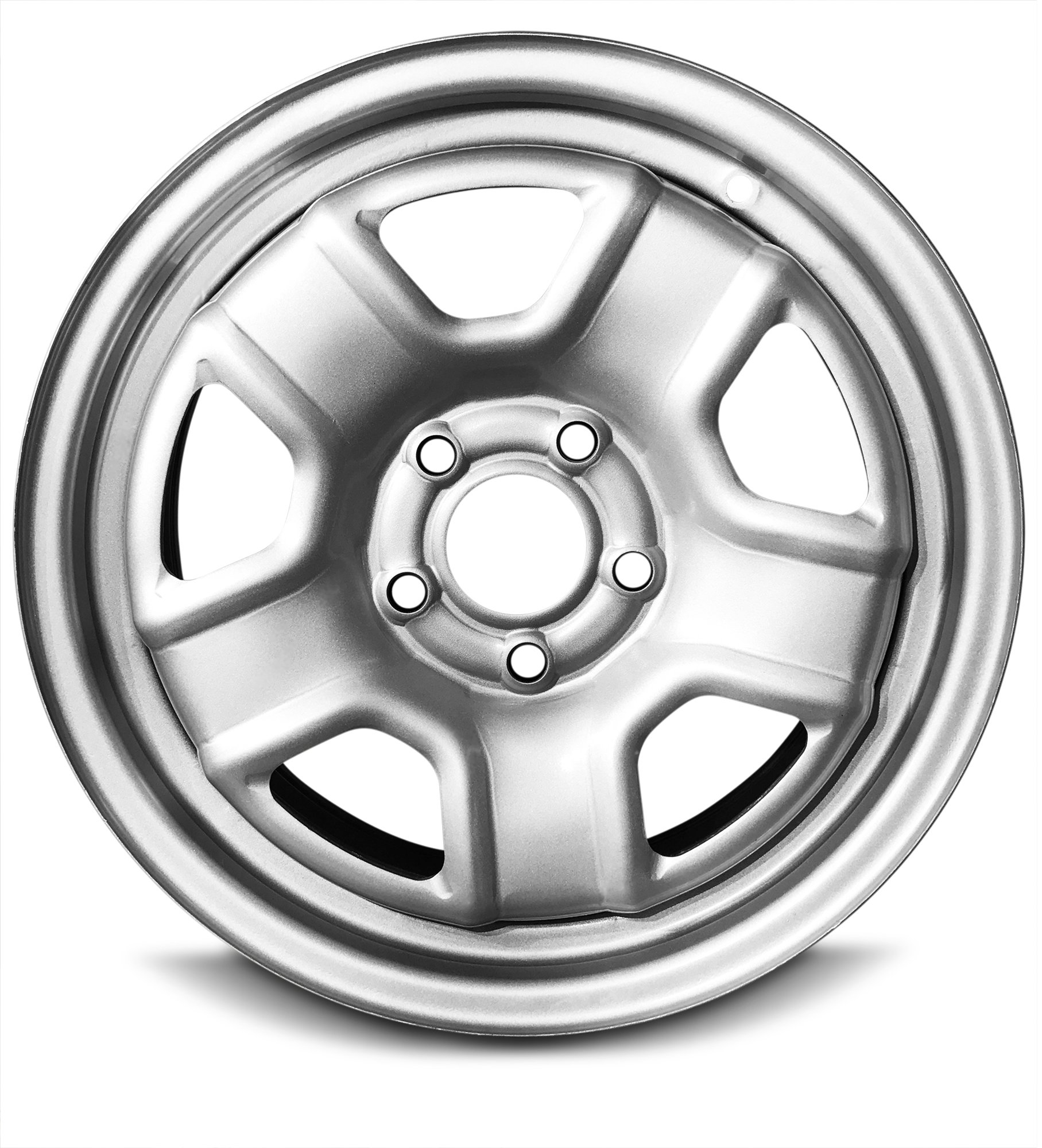 New 16 Inch Jeep Patriot Compass 5 Lug Silver Replacement Steel Wheel Rim 16x6.5 Inch 5 Lug 67.1mm Center Bore 40mm Offset WAA by Road Ready Wheels (Image #1)