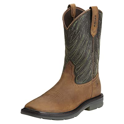 ARIAT Men's Maverick Wide Square Toe Work Boot | Industrial & Construction Boots