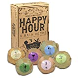 Amazon Price History for:Bath Bombs XL Gift Set of 6, Happy Hour, Paraben Free, Phthalates Free, Lush All Natural Essential Oils, Cocoa Butter, Fizzies, Melts, Bubble Bath