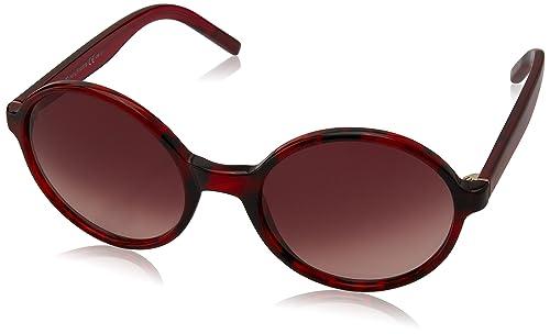Tommy Hilfiger Für Frau 1187 Red Havana / Red / Burgundy Gradient Kunststoffgestell Sonnenbrillen
