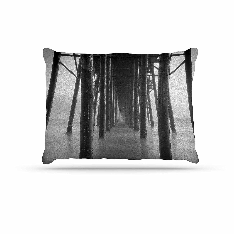 KESS InHouse Juan Paolo Vanishing Pt. Coastal Photography Dog Bed, 30  x 40