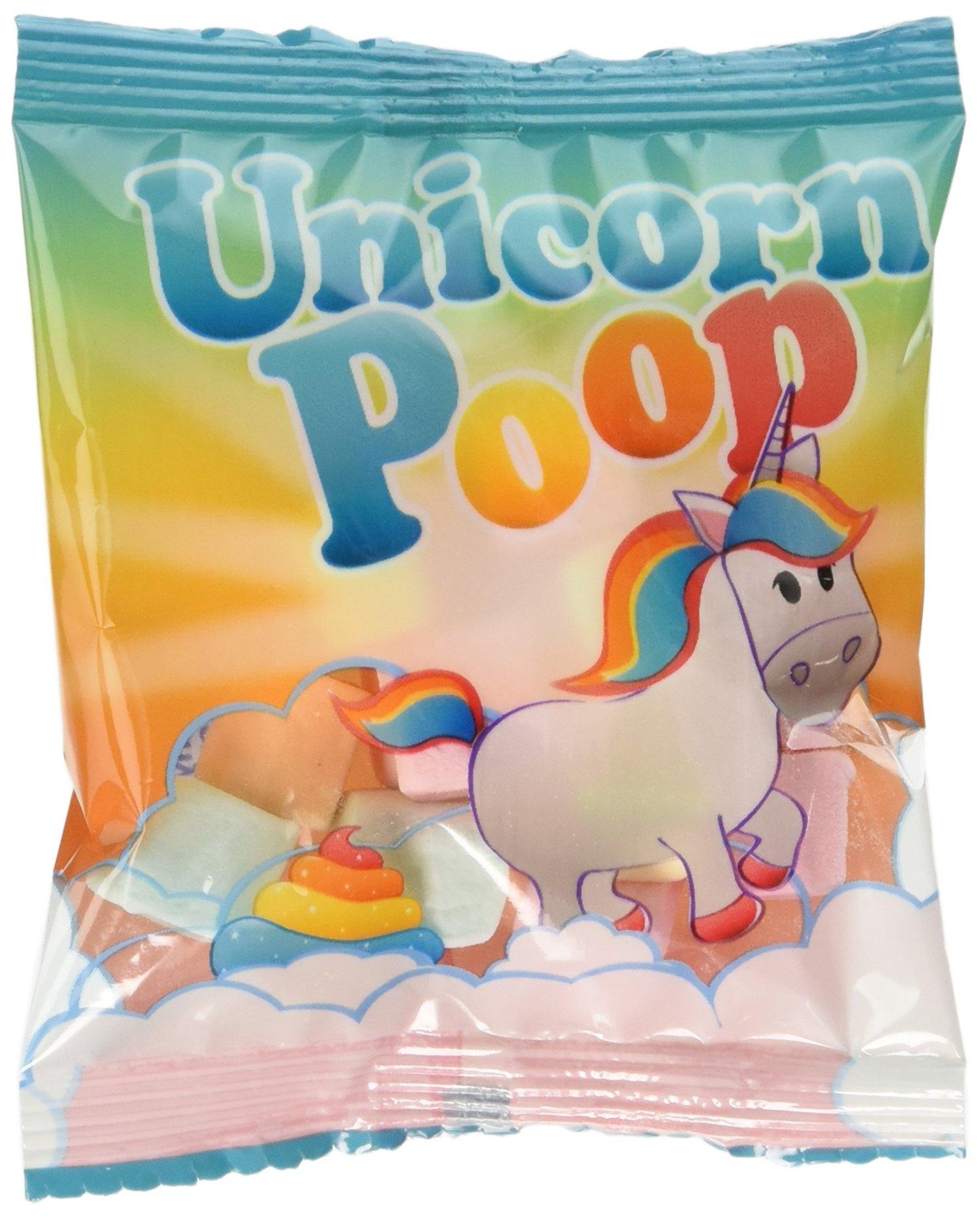 Unicorn Poop Marshmallow Candy Fun Packs - 57 Packs by Fun Express