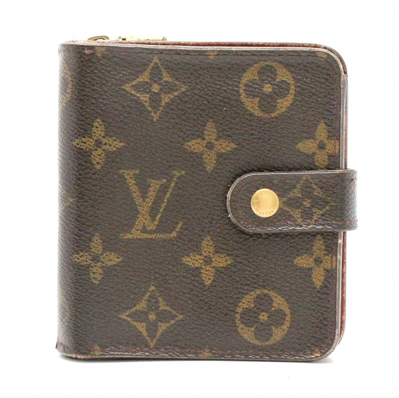 [ルイ ヴィトン] LOUIS VUITTON モノグラム コンパクトジップ コの字型 2つ折ファスナー財布 M61667 B07FRGFXH2  -