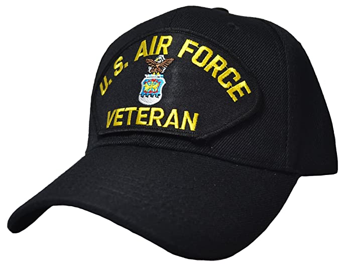 1f78cb778ca1a Image Unavailable. Image not available for. Color  US Air Force Veteran Ball  Cap