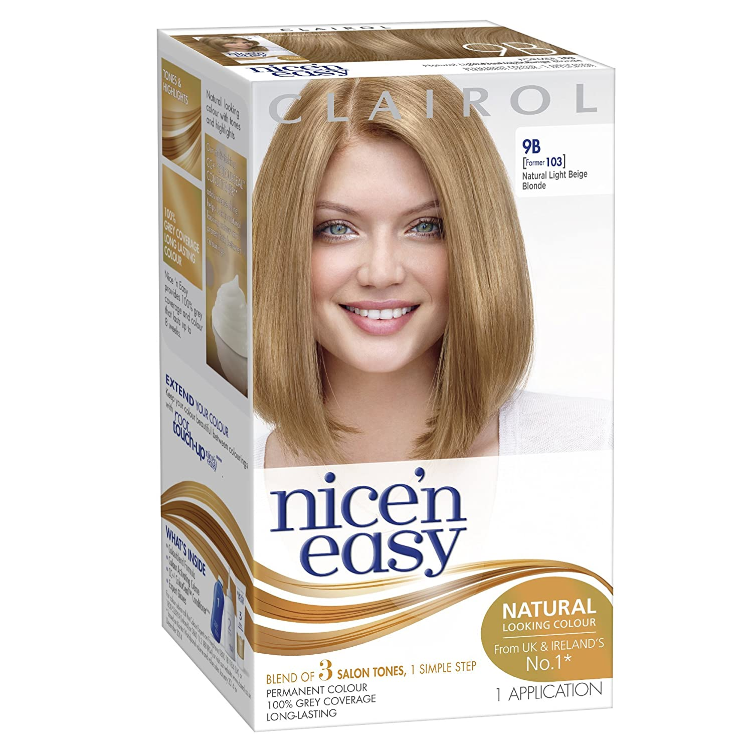 Amazon Clairol Nice N Easy Permanent Hair Colour 103 Natural