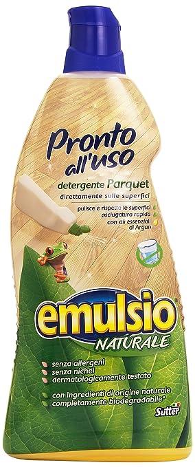 2 opinioni per Emulsio Naturale 0283113 Pronto all'Uso Parquet, 1000 ml