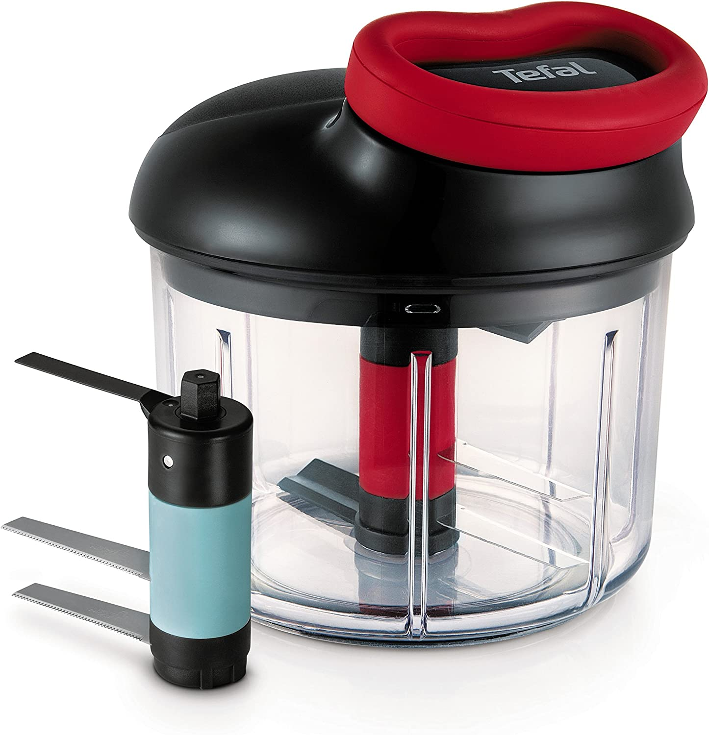 Tefal Ingenio - Picadora Manual sin Cable con Capacidad de 900 ML ...