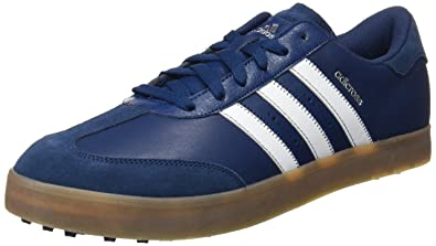 c1a1b00fb29026 adidas Men's Adicross V Golf Shoes Mineral Blue/White/Gum, 7.5 UK 41 ...
