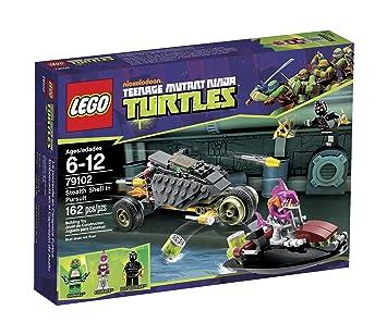 LEGO Teenage Mutant Ninja Turtles Emboscada en el Caparazón ...