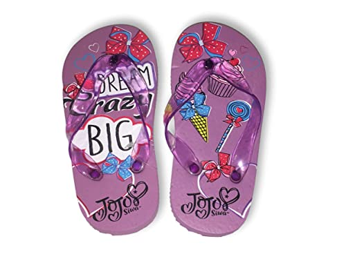 440a5320d49f9 JoJo Siwa Flip Flops Sandals Dream Crazy Big Toddler Girl Size 5 6