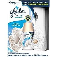 Desodorizador Glade Automatic Spray Aparelho + Refil Toque de Maciez 269ml