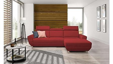 JUSTyou Bueno Comfort Sofá esquinero Chaise Longue función ...