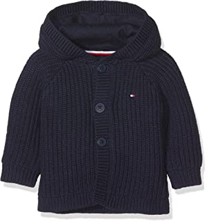 Tommy Hilfiger Unisex Baby Stripe Zip Hoodie Kapuzenpullover