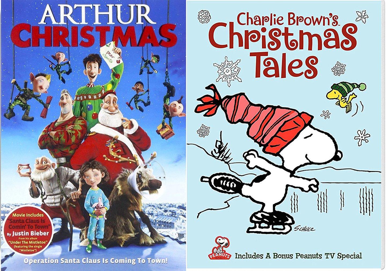 Amazon.com: Charlie Brown\'s Christmas Tales Cartoon DVD & Arthur ...
