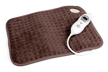 Vidabelle Almohadilla Eléctrica - Cojín Térmico con 6 Niveles de Temperatura - Apagado Automático - Lavable a Máquina: Amazon.es: Salud y cuidado personal