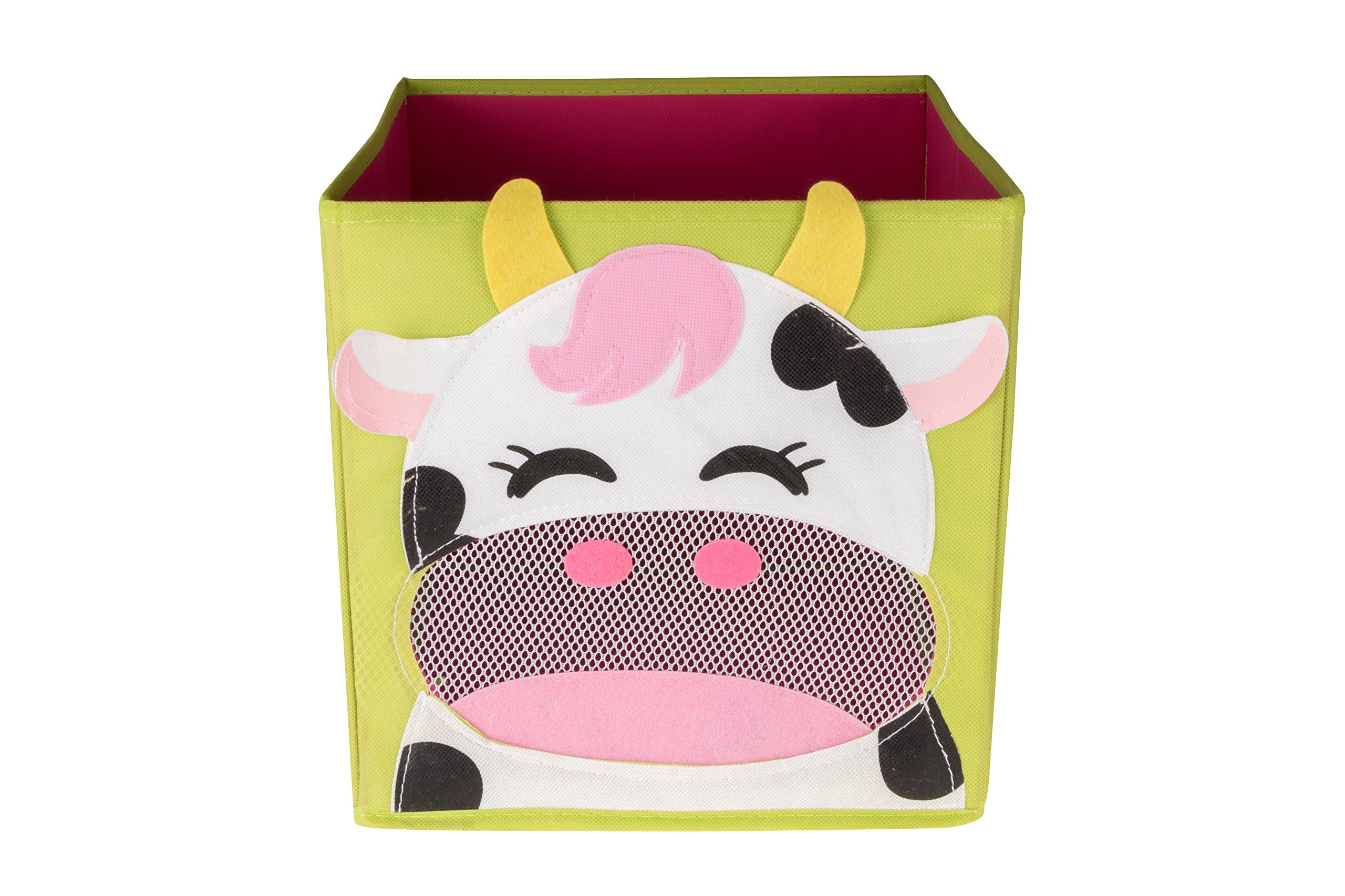 Newstyle foldable kids 39 toy storage bin box for Baby clothes size organizer