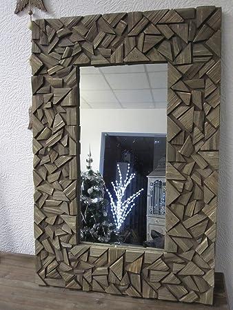Wunderschöner Holz Spiegel aus Treibholz Mediterran Look ...